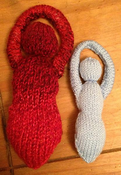 Knitting Goddess : Goddess poppet knitting pattern moira hodgkinson